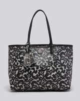 Kerrington Printed Lace Shopper Tote
