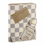 Damier Azur Small Ring Agenda Cover