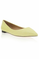 Mallard Snake Point Toe Pumps (On Sale)