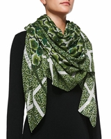 MARC BY MARC JACOBS AKI FLOWER SCARF