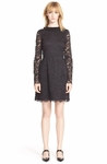 Marc By Marc Jacobs Black isabella Lace Fit Flare Dress - 9.12