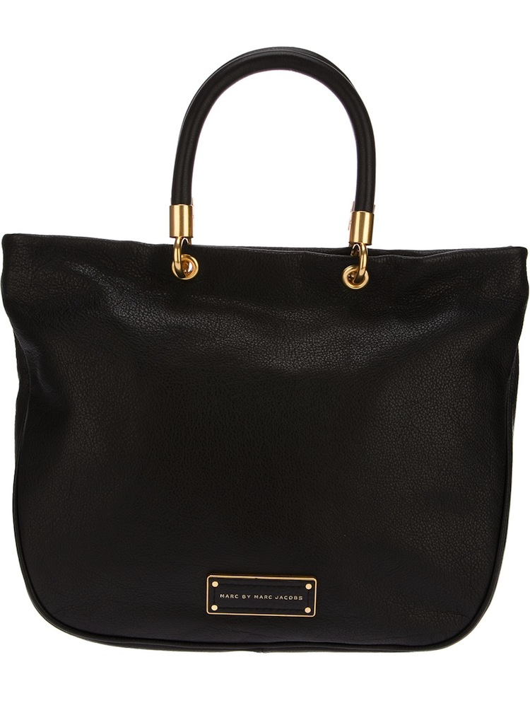 be67ec16b316f MARC BY MARC JACOBS Black Mini Too Hot To Handle Tote