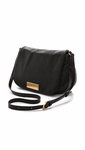 Black Washed Up Nash Crossbody Bag