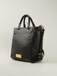 Black Washed Up Tote
