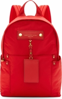 Marc by Marc Jacobs Cambridge Red Preppy Nylon Backpack