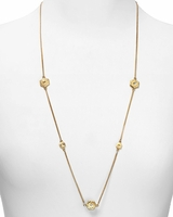 MARC BY MARC JACOBS Long Bolt Necklace