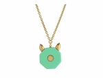 Marc by Marc Jacobs Octi Bolt Cat Pendant