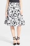 MARC BY MARC JACOBS Print Cotton A-Line Skirt