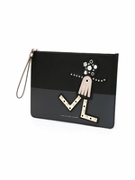 MARC BY MARC JACOBS Screw Up Faces Chica clutch