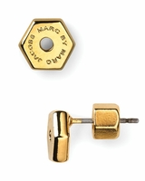 Marc by Marc Jacobs Tiny Bolt Stud Earrings