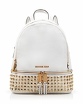 Michael Kors Rhea Zip Soft Venus Studded Backpack - 5.24