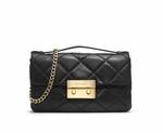Michael Kors Small Sloan Quilted Messenger - 5.10