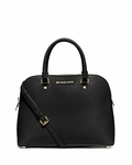 MICHAEL Michael Kors Cindy Large Dome Satchel Bag - 4.30