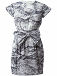 MOSCHINO Printed Bow Dress - 6.9