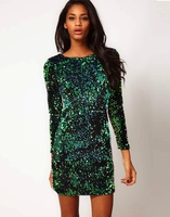 Gabby Iridescent Sequin Dress