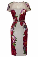 Multicolor Stefana Dress (On Sale)