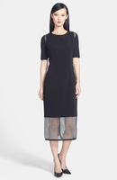 Nora Mesh Hem Dress