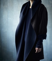 Draped Oversize Hooded Parka