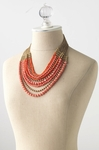 PALAMINO NECKLACE CORAL RED