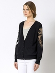 Patrizia Pepe WOOL AND CACHEMIRE CARDIGAN - 11.6