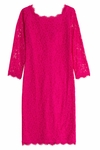 Pink Zarita Lace Dress - 4.13