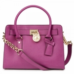 Purple Hamilton Saffiano Leather Tote - 9.20