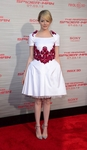 Red Floral Embroidery White Princess Dress (On Sale)
