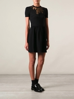Black Star Detailed Dress