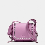 Rivets Dakotah 14 Crossbody In Calf Leather - 6.20