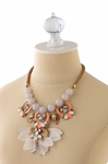 RIVIERA STATEMENT NECKLACE - 4.4