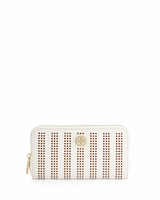 Robinson Perforated Continental Wallet