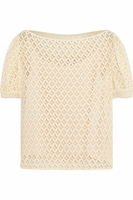 See By Chloé White Lace Top