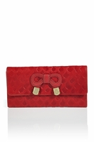 See By Chloé  Zip-Around Embossed Wallet