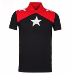 Star motif polo shirt - 5.19