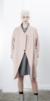 Studio Lilo Double Light Pink Melange Coat