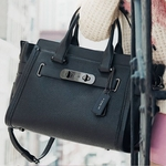 Swagger Carryall in Nubuck Pebble Leather - 4.19