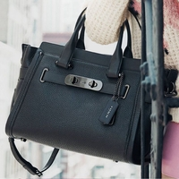 Swagger Carryall in Nubuck Pebble Leather