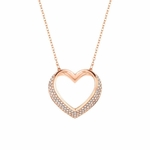 Swarovski 5113583 Cupidon Rose Gold Necklace - 5.10