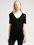 T by Alexander Wang Classic Pocket Tee - 4.10