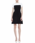 Tala Sleeveless Colorblock Dress Creamblack - 4.14