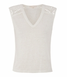 TAZ Sleeveless linen T-shirt - 5.23