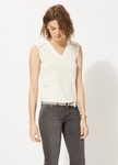 TAZ Sleeveless linen T-shirt - 6.1