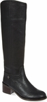Black Fulton Knee High Boots