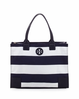 Tory Burch Blue Packable Ella Tote