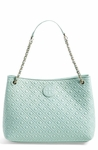 Tory Burch 'Marion' Diamond Quilted Leather Tote - 5.29