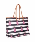 Tory Burch Multicolor Kerrington Square Tote Bag