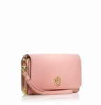 Tory Burch Pink Robinson Envelope Smartphone Wristlet - 5.4
