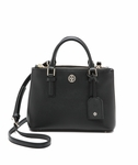Tory Burch Robinson Micro Double Zip Satchel