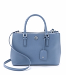 Tory Burch Robinson Mini Double Zip Satchel - 5.6