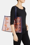 Tory Burch Transparent Lizzie Print Tote - 4.6